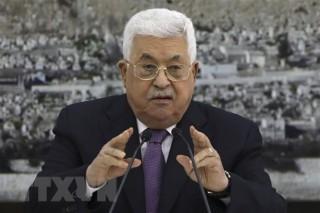 Tổng thống Palestine kêu gọi ngăn chặn Kế hoạch hòa bình Trung Đông
