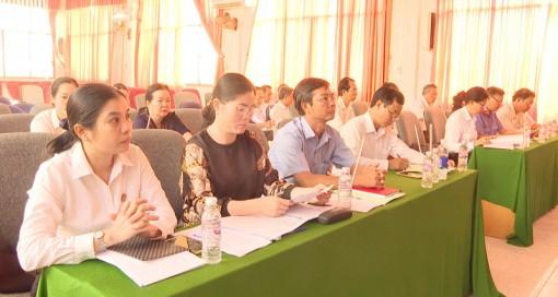 Tòa án nhân dân huyện Thạnh Phú triển khai công tác năm 2020
