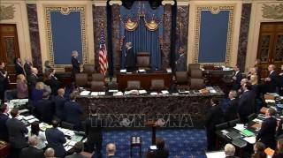 Thượng viện Mỹ có thể đưa ra phán quyết cuối cùng đối với Tổng thống Trump vào ngày 5-2-2020