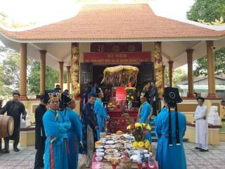 Kỷ niệm 151 năm Ngày mất cụ Lê Quang Quan