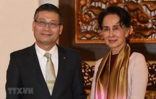 Cố vấn Nhà nước Myanmar nhấn mạnh tầm quan trọng quan hệ với Việt Nam