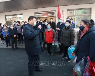 Lãnh đạo Trung Quốc khẳng định quyết tâm chiến thắng dịch bệnh do virus Corona