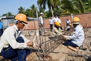 Công trình Khu lưu niệm Nguyễn Sinh Sắc đạt 30% kế hoạch