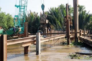 Khẩn trương ngăn mặn, đảm bảo nguồn nước sinh hoạt, sản xuất