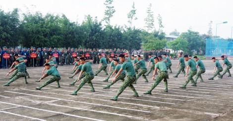 Thanh niên lực lượng vũ trang xây dựng và bảo vệ Tổ quốc