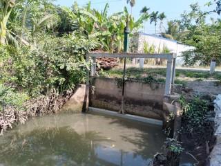 Phát huy hiệu quả ngăn mặn, trữ ngọt 14 cống ở Phú An Hòa và An Phước