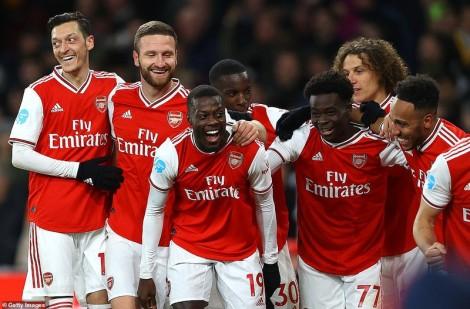 Arsenal đè bẹp Newcastle với tỷ số 4-0