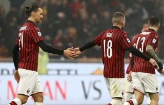 Ibrahimovic làm nền cho Rebic, Milan tìm lại niềm vui chiến thắng