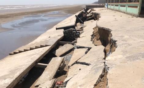 Xây dựng kè bảo vệ bờ biển khu vực cồn Bửng