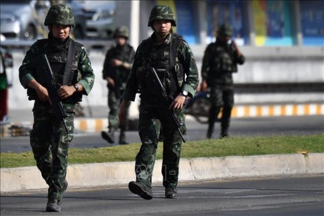 Nổ súng tại một trung tâm thương mại ở thủ đô Bangkok, Thái Lan