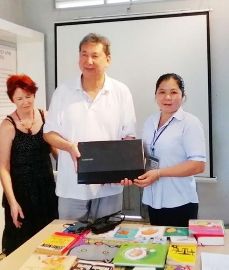 Hậu duệ Nhà bác học Trương Vĩnh Ký về thăm quê hương Cái Mơn