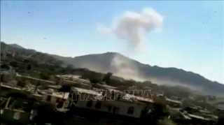 Đoàn xe chở Bộ trưởng Quốc phòng Yemen bị trúng mìn