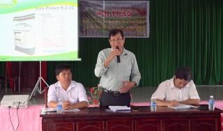 Hội thảo Thực trạng và giải pháp khắc phục hạn mặn