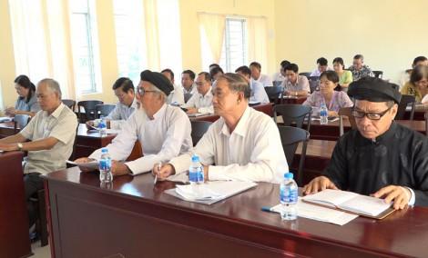 Hội nghị lấy ý kiến đóng góp dự thảo Văn kiện
