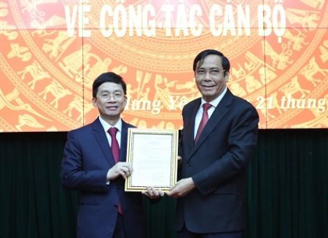 Phó Chủ nhiệm VPCP được điều động làm Phó Bí thư Thường trực Tỉnh ủy Hưng Yên
