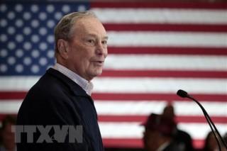 Bầu cử Mỹ: Tỷ phú Bloomberg đầu tư mạnh cho công nghệ và truyền thông