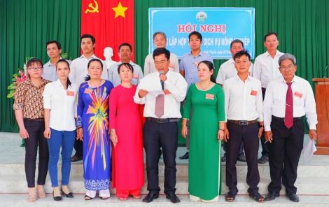 Thành lập Hợp tác xã dịch vụ nông nghiệp Bình Thạnh