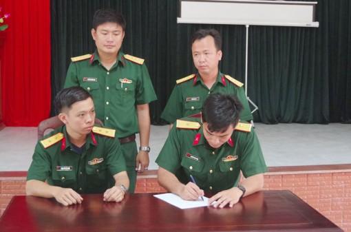 Tiểu đoàn 516, Trung đoàn 895, phát động thi đua