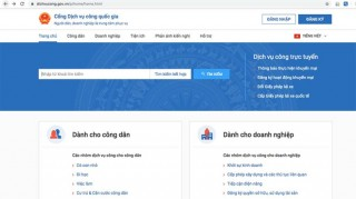 Quý II cung cấp DVC trực tuyến liên thông đăng ký khai sinh, thường trú, cấp BHYT