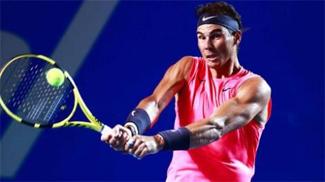 Nadal vào tứ kết ở Acapulco