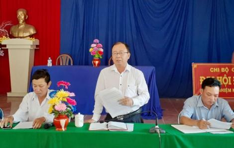 Kiểm tra tiến độ xây dựng nông thôn mới xã Thới Lai