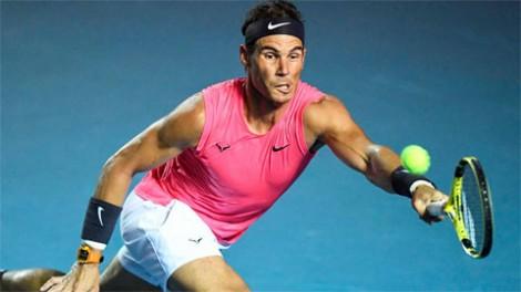 Nadal đấu bồ cũ Sharapova tại bán kết ở Acapulco