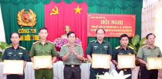 Tổng kết công tác phối hợp giữa Công an - Quân sự - Biên phòng
