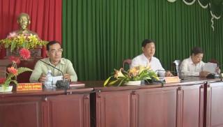 Ba Tri lấy ý kiến đóng góp dự thảo Văn kiện Đại hội Đảng bộ huyện