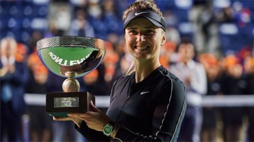 Mỹ nhân ảnh 'nóng' người Ukraine vô địch Monterrey Open 2020