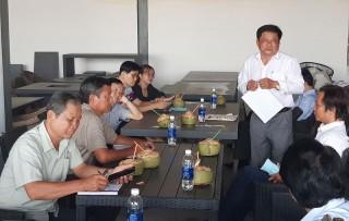 HĐND tỉnh khảo sát thực tế tại Cụm công nghiệp Phong Nẫm