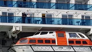Hàng nghìn người mắc kẹt trên du thuyền có ca nghi nhiễm virus SARS-CoV-2