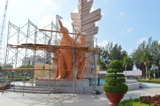 Nâng cấp Tượng đài Đồng Khởi Bến Tre