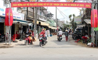 Lộc Thuận thực hiện thắng lợi Nghị quyết nhiệm kỳ 2015 - 2020