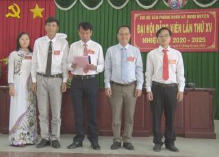 Chi bộ Văn phòng HĐND huyện Ba Tri tổ chức Đại hội đảng viên điểm