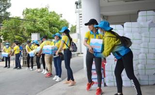 Công ty cổ phần Nước - Môi trường Bình Dương Biwase tiếp tục hỗ trợ nước đợt 2