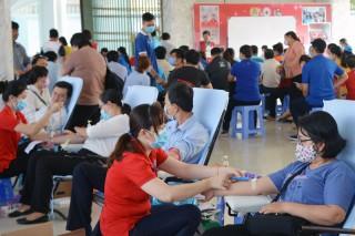 Hội Chữ thập đỏ tỉnh tổ chức hoạt động hiến máu tình nguyện