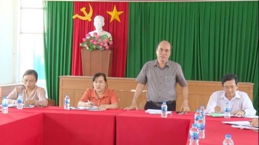 Bí thư Thành ủy TP. Bến Tre làm việc với Đảng ủy phường An Hội