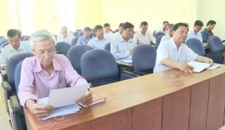 Mặt trận Tổ quốc Việt Nam huyện Thạnh Phú sơ kết quý I-2020