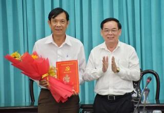 Phó chánh Văn phòng Tỉnh ủy Nguyễn Hòa Nghĩa nghỉ hưu