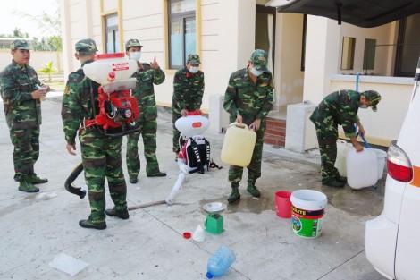 Lực lượng vũ trang tỉnh khẩn trương phòng chống dịch Covid-19
