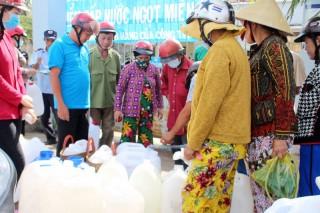Giảm giá nước máy sinh hoạt