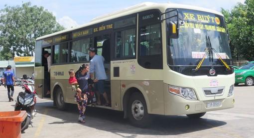 Các tuyến xe buýt ngưng hoặc giảm tần suất hoạt động