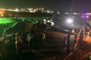 Philippines: Máy bay bốc cháy khi cất cánh, 8 người thiệt mạng
