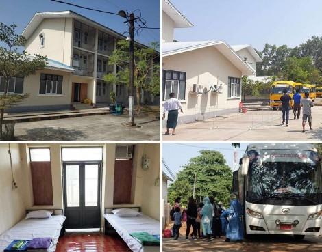 LĐBĐ Myanmar nhường trụ sở làm trung tâm kiểm dịch COVID-19