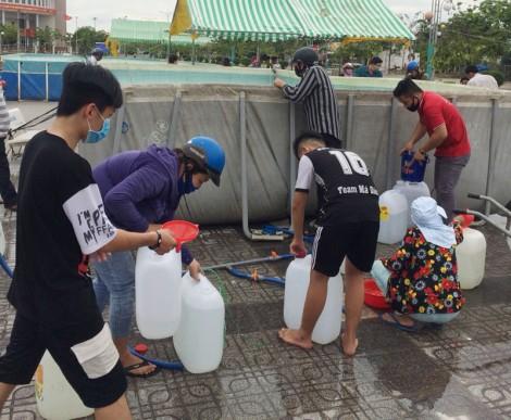 Sử dụng hồ bơi để chứa nước ngọt