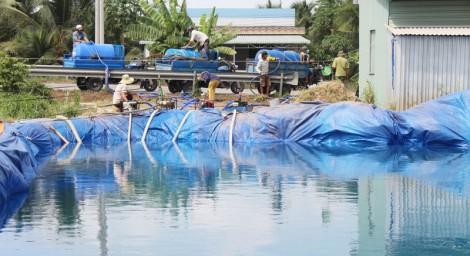 Người dân xã Phong Nẫm nhận hơn 8.000m3 nước ngọt