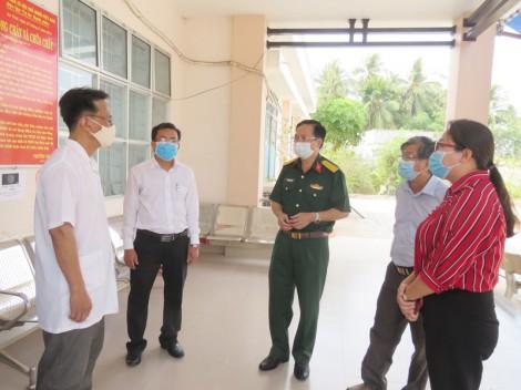 Kiểm tra công tác phòng chống dịch bệnh Covid-19 tại huyện Mỏ Cày Nam