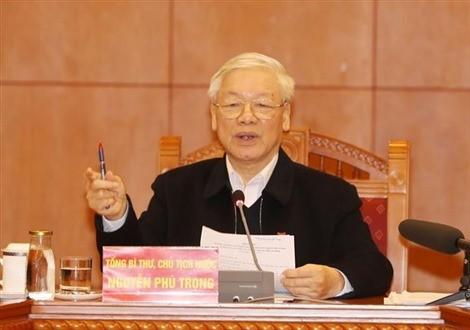 """Tổng Bí thư, Chủ tịch nước Nguyễn Phú Trọng gửi thư nhân Ngày """"Toàn dân hiến máu tình nguyện"""""""