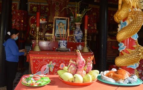 Lễ giỗ Tổ Hùng Vương trang nghiêm đảm bảo điều kiện phòng chống dịch bệnh