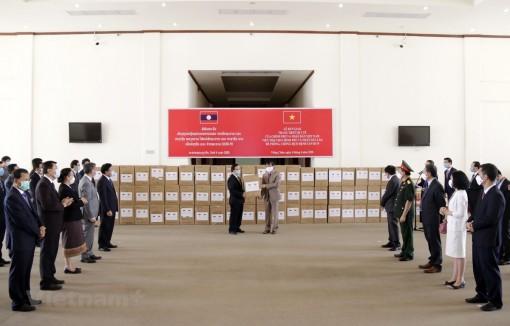 Lào đánh giá cao sự hỗ trợ của Việt Nam trong phòng chống COVID-19